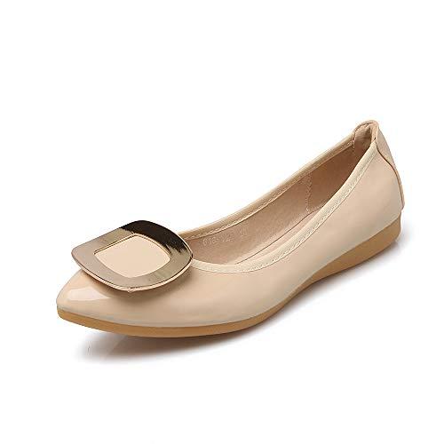 Plegables Suaves Mujer Mujeres de Embarazada Zapatos Planos Bolsillo de Boca Las B Zapatos la Ballet Planos Baja FLYRCX Zapatos de Zapatos señalaron zAvqFxwBx