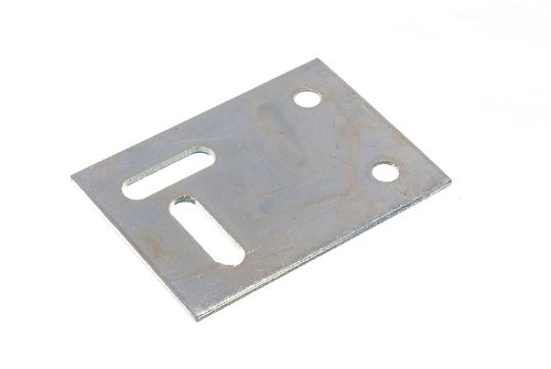 200 X 53Mm X 38Mm Stretcher Mending Bracket Plate 2 Holes 2 Slots