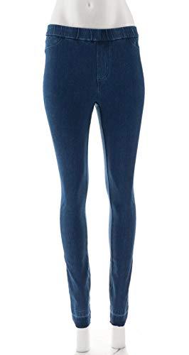 Isaac Mizrahi Tall Knit Denim Slim Leg Jeans Medium Indigo 10 New A311585 from Isaac Mizrahi Live!