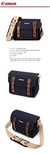 CANON D-SLR RF Mirrorless Pocket Shoulder Bag Case 3355 Navy for Lens EOS M M2 M3 100D 400D 450D 500D 550D 600D 650D 700D 750D by Yves
