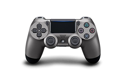 DualShock 4 Wireless Controller for PlayStation 4 - Steel Black (Video Games)