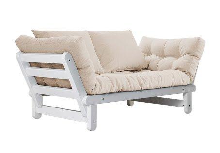 Viverezen divano letto futon beat zen pino scandinavo for Divani letto on line