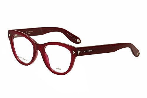 Givenchy Eyeglasses GV 0012 GV/0012 EGT Burgundy Cat Eye Optical Frame 50mm