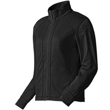 Footjoy 27150 M080 Performance Full-Zip Mid Layer Womens Jacket44; Black - Large by FootJoy