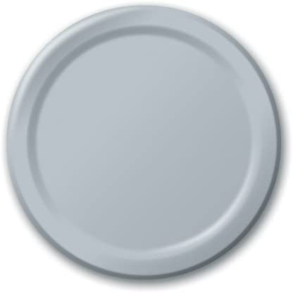 Unique Tableware Silver 9 Paper