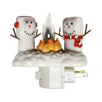Amazon Com Elf On The Shelf Plug In Bubble Night Light