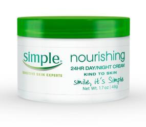 Simple Nourishing 24 Hour Cream, 1.7 Ounces