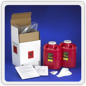 2 Gallon Sharps Mail Back System - (2 Pack)