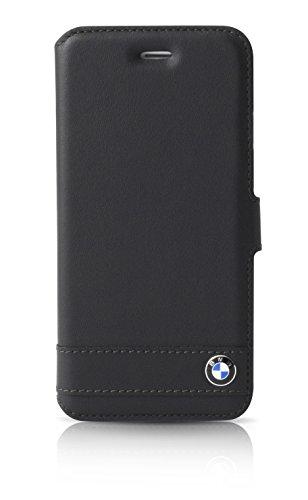 BMW Signature Premium Booktype Case Leather - Black - iPhone 6/6s