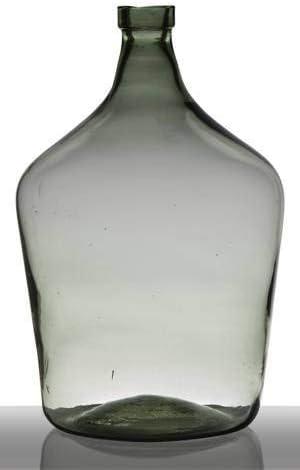 22cm Botella Decorativa JUDINA /Ø5,5cm///Ø11cm Transparente//Azul INNA-Glas Set 2 x Recipiente de Vidrio Botella para decoraci/ón cil/índrica//Redonda