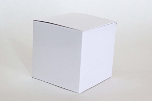 White Favor or Gift Box 3 X 3 X 3 | 12 Ct