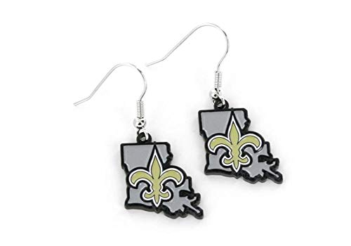 NFL New Orleans Saints Home State Earrings ()