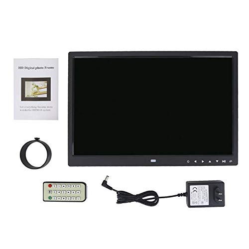 Digital Photo Frame 15 inch HD Touch Screen Digital Photo Frame MP3 MP4 Movie Player Alarm Photo Frames Photo Digital Photos Frames (Back)