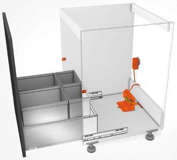 Blum, Servo-Drive Waste/Recycle Set (Servo Hardware)