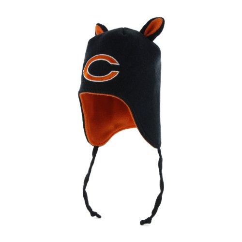 Little Monster Knit Hat - NFL Chicago Bears Infant Little Monster Knit Hat, One Size, Navy