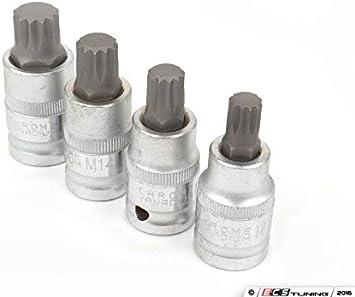 1//2 Drive,10Mm Schwaben HS-12M10160 Triple Square Head Bolt Socket