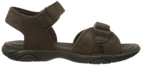 bambino Sandal Harbor Leather Strap Brown EK Timberland Unisex 2 Dark Sandali Rye cqYFzww6