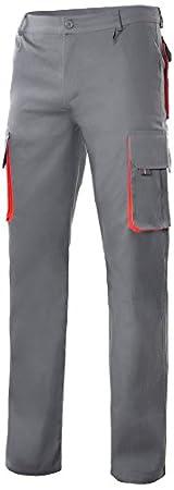 Velilla P1030041//2540 Pantalon bicolor multibolsillo