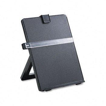 Fellowes® Nonmagnetic Desktop Copyholder COPYHOLDER,DESK TOP,BK CC654AN#140 (Pack of6) ()