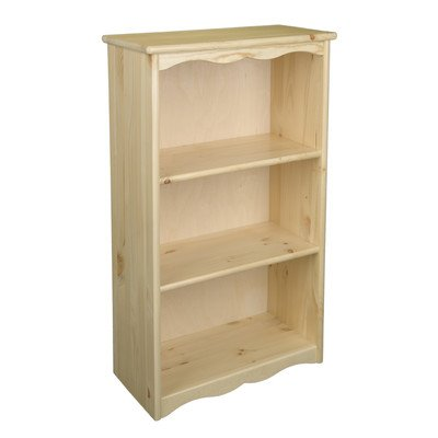 Pine Traditional Cabinet - Little Colorado Traditional Bookcase, Natural