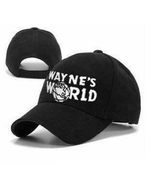 Wayne's World Hat costume Waynes World cap embroidered baseball cap version ()