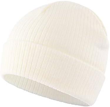 Home Prefer Toddler Boys Girls Rib Knit Kids Winter Hat Warm Skull Beanie Caps