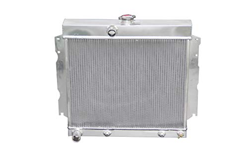 ZC1635 New 3 Rows All Aluminum Radiator Fit 1968-74 Dodge Chrysler Mopar Cars Most Engine