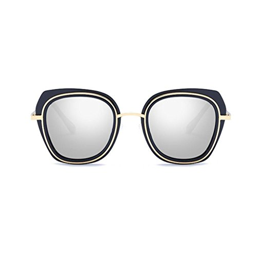 marco metal frame tamaño de gafas GAOLIXIA Al Gray conducción sol de Ultra Black Wayfarer polarizadas Square hombre size marco Mg Lady Light de sol Gafas One Color pink Fashion g4gXtwqU