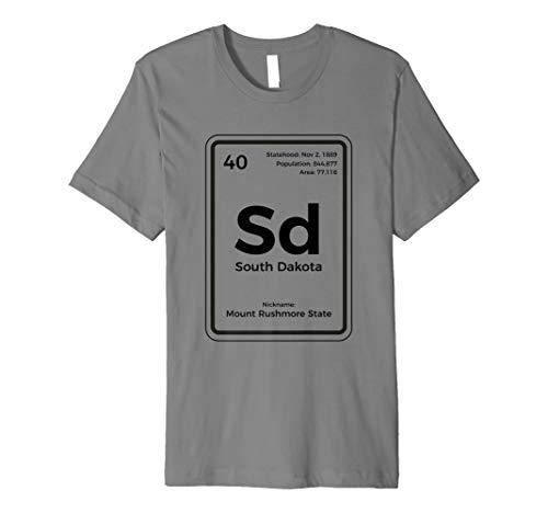 South Dakota Shirt Mount Rushmore State Vacation Gift  Premium T-Shirt ()