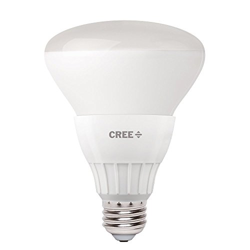 Cree 65W Equivalent Soft White (2700K) 9.5W BR30 9W Dimmable LED Flood Light Bulb (4-Pack)