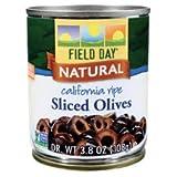 Field Day California Ripe Sliced Olive, 3.8 Ounce - 12 per case.