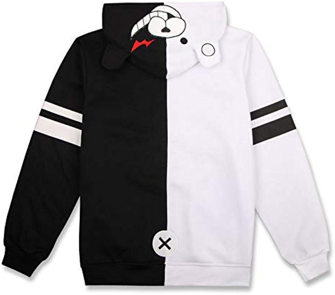 GK-O Anime Danganronpa Monokuma Warm Thicken Hoodie Jacket Cosplay Costume