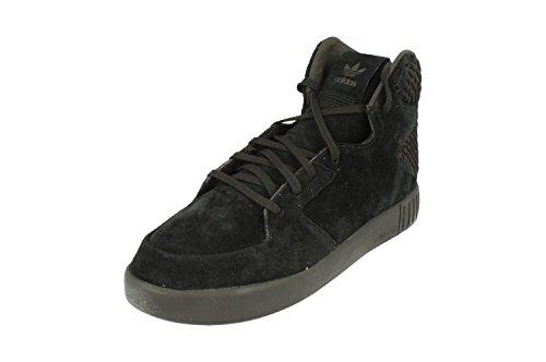 adidas Originals Tubular Invader 2.0 Mens Hi Top Trainers Sneakers Black White S80400 dnfWiqe