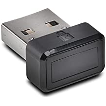 Kensington VeriMark USB Fingerprint Key, Black (K67977WW)