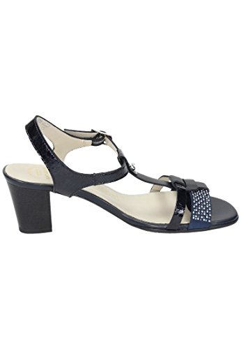 Comfortabel Damen-Sandale -G blau (5) blau saCzUm