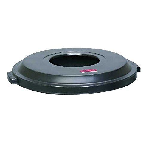 Rubbermaid Commercial Products Refuse Container, Bayside Lid (FG9W1300BLA) ()