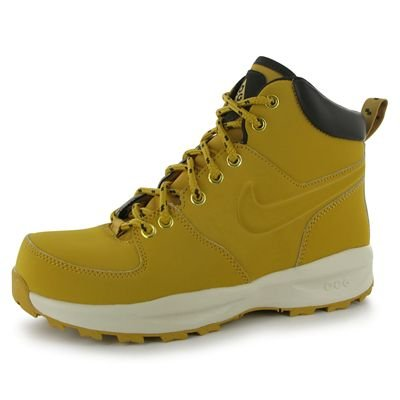 On On On Gar Chaussures Nike Nike Nike Nike De Haystack Jaune velvet Brown haystack Manoa Lth Marron ps Sport rxqqwY0tp