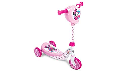 Disney Juniors Disney Minnie Mouse Happy Helpers Secret Storage 3 Wheel Scooter - Pink]()