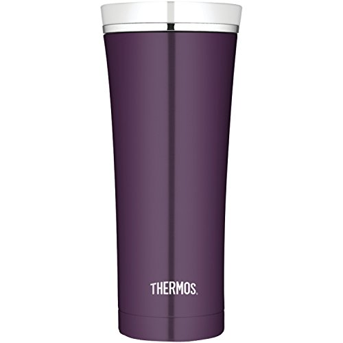 Thermos 16 Ounce Vacuum Insulated Travel Tumbler, Plum