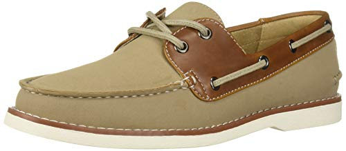 Unlisted by Kenneth Cole Men's Unlisted Santon Boat Shoe, Sand, 8 M US