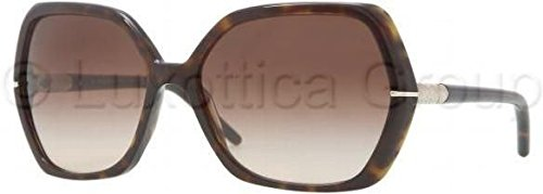 Burberry Sunglasses Be 4107 3002/13 Dark Tortoise Lens: Brown - Shop Burberry