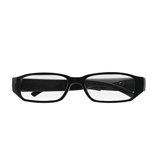 Monuen Hidden Camera Eyeglasses photo Taking Video Recording Spy Camera Glasses Wireless Surveillance Camera by...