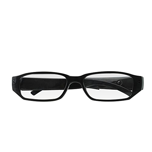 Monuen Hidden Camera Eyeglasses photo Taking Video Recording