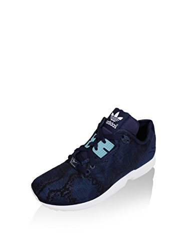 Flux Marino Negro Decon Mujer Woman Azul Zx Adidas Zapatillas UqF66Z