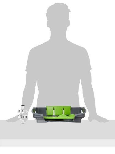 Grey//Green Dish Rack 1 CreativeWare SLV-DISRCK-GG Ultimate