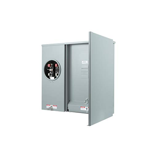 Siemens MC0816B1200TH 8 Space, 16 Circuit, 200 Amp, Meter Combination, Ring Type - Main Disconnect