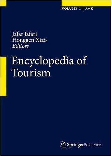 Ebooks kostenlose Downloads Encyclopedia of Tourism PDF iBook PDB