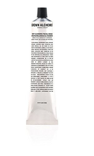 Grown Alchemist Deep Cleansing Facial Masque, Wheat Germ, Ginkgo and (Ginkgo Mask)