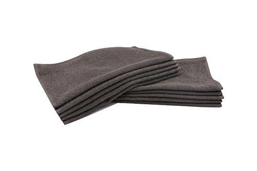 ZOLLNER® 10er Set Seiftücher / Seiflappen 30x30 cm taupe, in weiteren Farben und Größen erhältlich, direkt vom Hotelwäschespezialisten, Serie