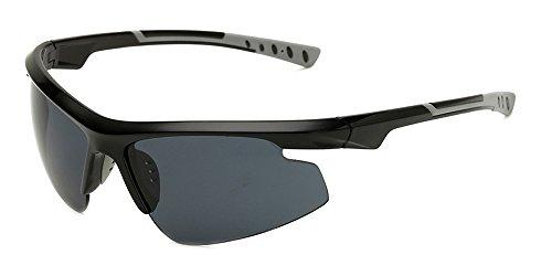 BOZEVON Men Professional Cycling Sunglasses, Non-Polarized UV400 Outdoor - Professional Sunglasses